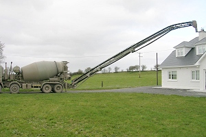 Concrete Truck Mixveyor Mixveyor Concrete Conveyor